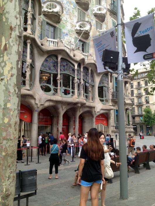 Casa Batlló zvenku