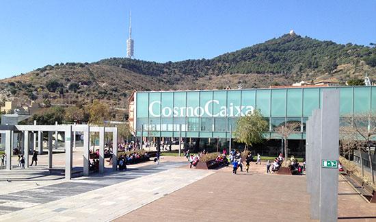 Barcelonská Cosmocaixa