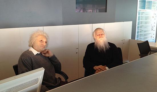 Einstein a Darwin na informacích