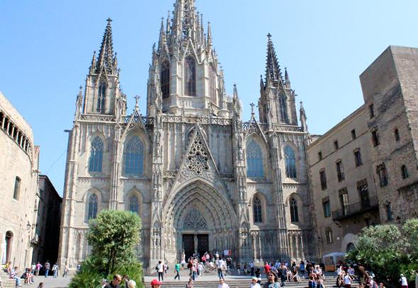 Gotická katedrála sv. Eulálie