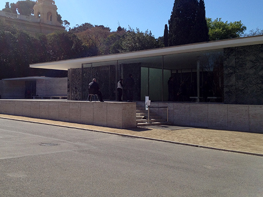 Pavilon architekta Mies van der Rohe