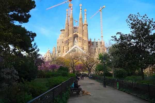 Nejslavnější barcelonská památka - Sagrada Familia