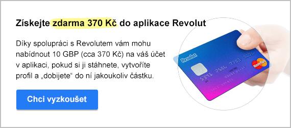 Revolut aplikace