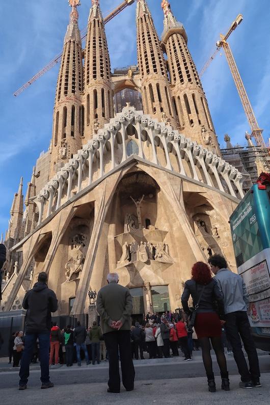 Obrázek katedrály Sagrada Familia